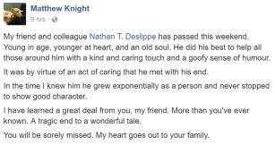 fb Matthew Knight